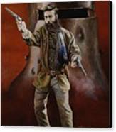 Ned Kelly Canvas Print by Chris Collingwood