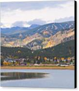 Nederland Colorado Scenic Autumn View Boulder County Canvas Print by James BO  Insogna
