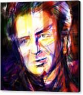 Neil Finn Canvas Print