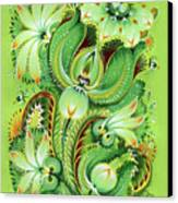 Neptunes Flowers Canvas Print