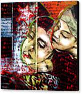 Neruda Love Poem Canvas Print