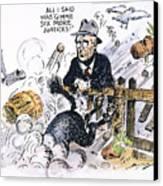 New Deal: Supreme Court Canvas Print