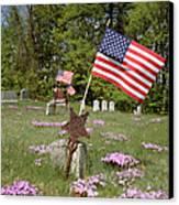 New England Graveyard Canvas Print
