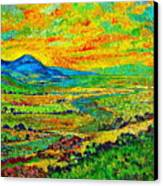 New Mexican Sunset Canvas Print by Michael Durst