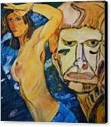 New Millenium Goddess Canvas Print