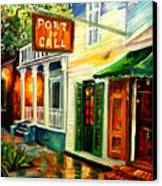 New Orleans Port Of Call Canvas Print