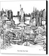 New York Canvas Print