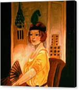 New York Fantasy Canvas Print