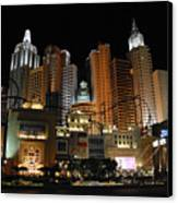 New York Las Vegas Canvas Print