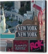 New York New York Strip Canvas Print by Andy Smy