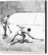 New York: Racket Club Canvas Print