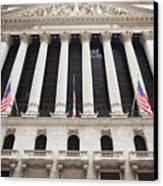 New York Stock Exchange Canvas Print by Bryan Mullennix