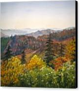 Newfound Gap Canvas Print by Shirley Braithwaite Hunt