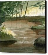 Newton Creek 1 Canvas Print by Sean Seal