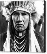 Nez Perce Native American Canvas Print