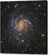 Ngc 6946, Also Known As The Fireworks Canvas Print