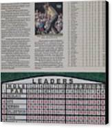 Nicklaus 1986 Masters Victory Canvas Print by Marc Yench