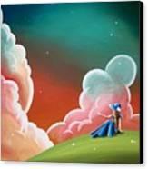 Night Lights Canvas Print by Cindy Thornton