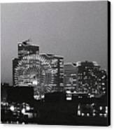 Night Scene Of Yokohama Canvas Print by Snap Shooter jp