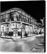 Night Time In The City Of New Orleans I Canvas Print by Tony Reddington