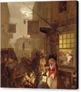 Night Canvas Print by William Hogarth