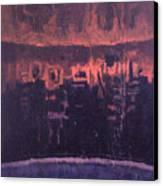 Nightscape New York Canvas Print