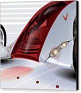 Nike Concept Car Ai Canvas Print by Brian Gibbs