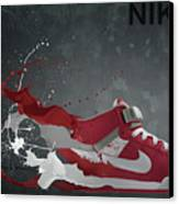 Nike Id Canvas Print by Tom  Layland