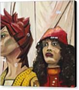 Nina And Star Canvas Print