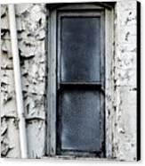 No View - Riverside Window Canvas Print