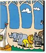 Noah's Ark Canvas Print by Genevieve Esson