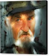 Nobody Knows Canvas Print by Bob Salo
