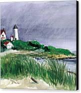 Nobska Light Canvas Print by Paul Gardner