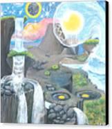 Nocturnal Biohydroloft Canvas Print