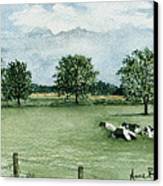Noonday Respite Canvas Print