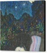 Norah Sleeping  Canvas Print