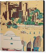 North African Landscape Canvas Print