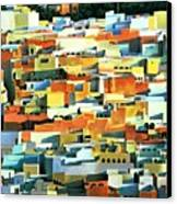 North African Townscape Canvas Print by Robert Tyndall