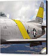 North American F-86 Sabre Canvas Print