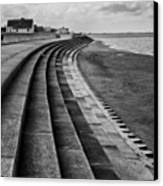 North Beach, Heacham, Norfolk, England Canvas Print by John Edwards