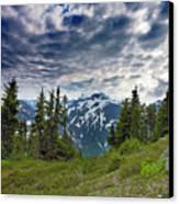 North Cascades National Park - Washington Canvas Print by Brendan Reals