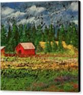 North Idaho Farm Canvas Print