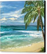 North Shore Canvas Print by Lisa Reinhardt