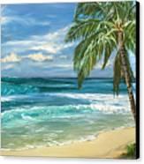 North Shore Canvas Print by Lisa Reinhardt