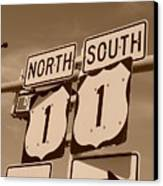 North South 1 Canvas Print