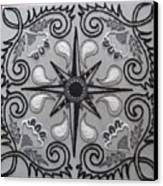 North Star Canvas Print by Carolyn Powers