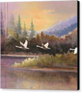 Northern Flight Canvas Print
