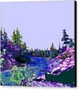 Northern Ontario River Canvas Print