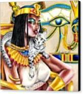 Nubian Queen Canvas Print