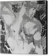 Nude 1 Canvas Print by Carmine Santaniello